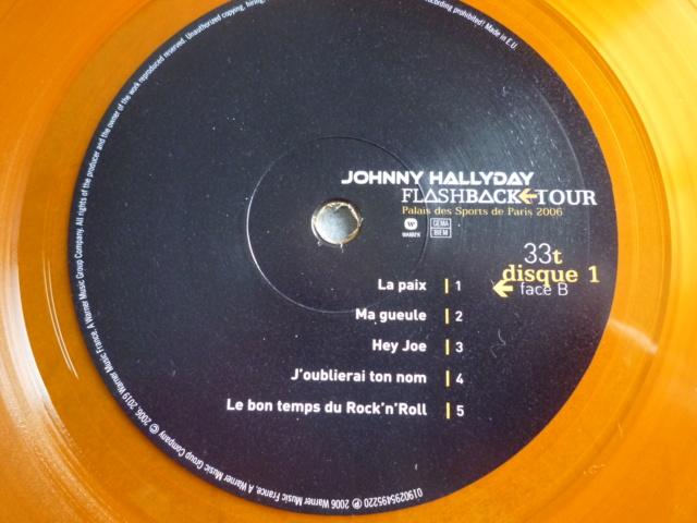 """triple vinyle """"palais des sports 2006-flashback tour"""" édité par WARNER P1610537"""