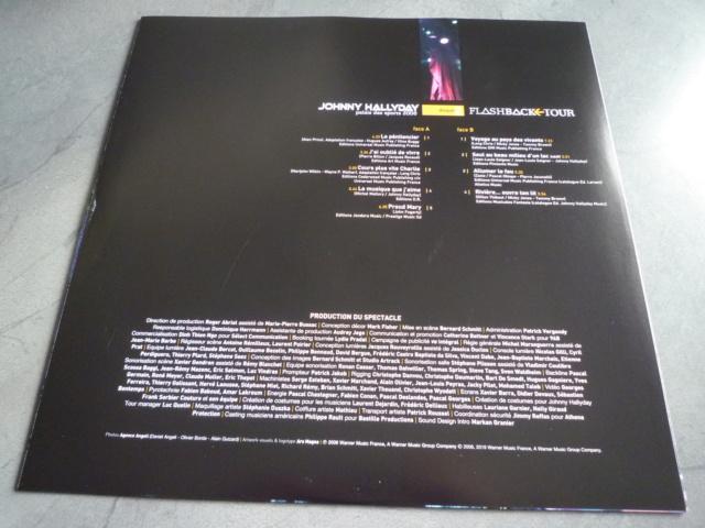 """triple vinyle """"palais des sports 2006-flashback tour"""" édité par WARNER P1610539"""