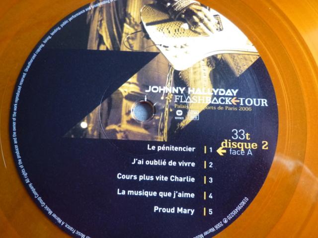 """triple vinyle """"palais des sports 2006-flashback tour"""" édité par WARNER P1610541"""