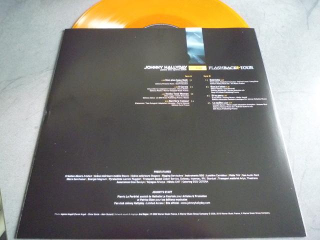 """triple vinyle """"palais des sports 2006-flashback tour"""" édité par WARNER P1610542"""