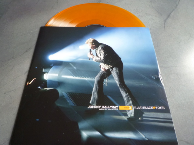 """triple vinyle """"palais des sports 2006-flashback tour"""" édité par WARNER P1610543"""