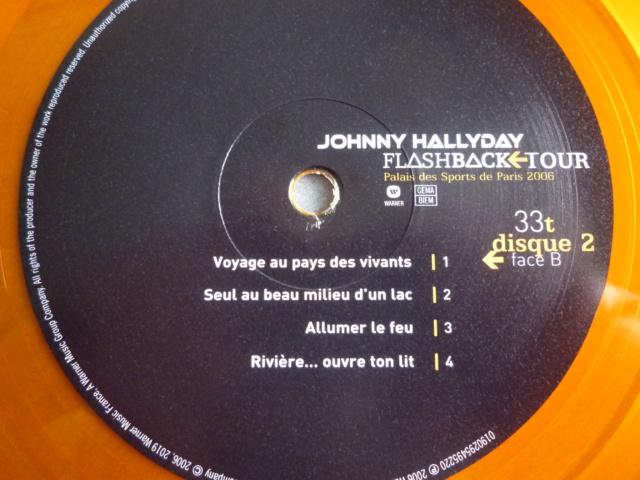 """triple vinyle """"palais des sports 2006-flashback tour"""" édité par WARNER P1610544"""