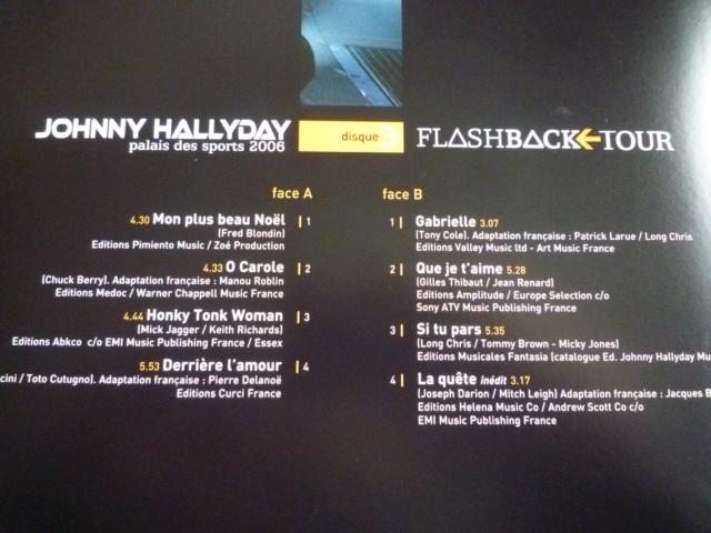 """triple vinyle """"palais des sports 2006-flashback tour"""" édité par WARNER P1610545"""