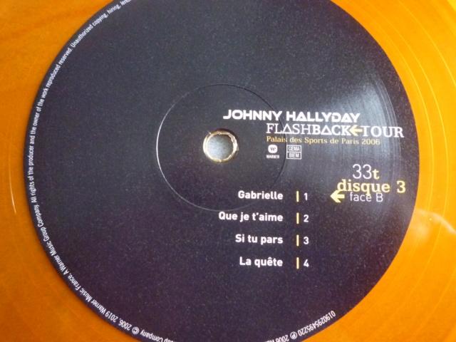 """triple vinyle """"palais des sports 2006-flashback tour"""" édité par WARNER P1610546"""