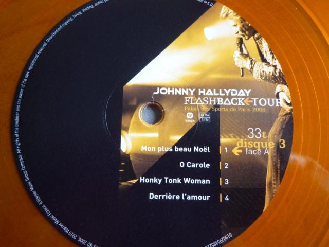 """triple vinyle """"palais des sports 2006-flashback tour"""" édité par WARNER P1610547"""
