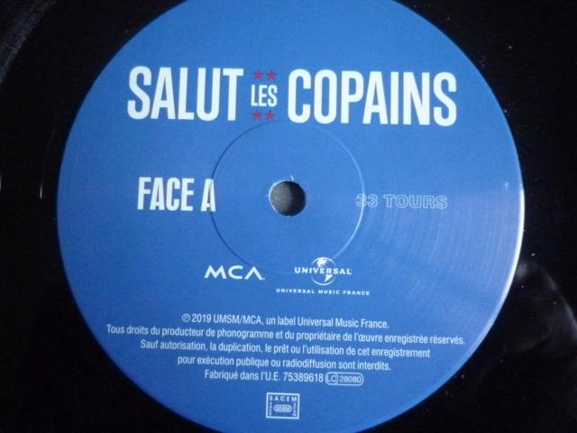 """double 33 tours """"Salut les copains"""" édité par UNIVERSAL P1610583"""