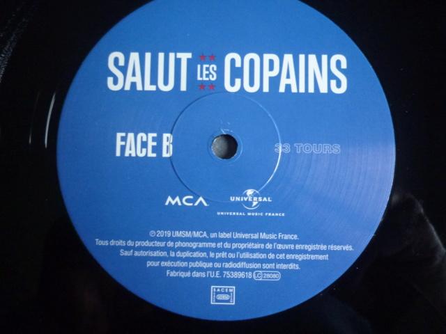 """double 33 tours """"Salut les copains"""" édité par UNIVERSAL P1610584"""