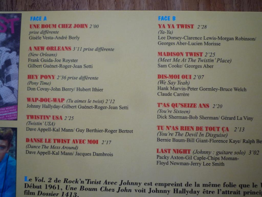 """25cm-33 tours """"rock and twist, volume 2"""" édité par JBM P1610698"""