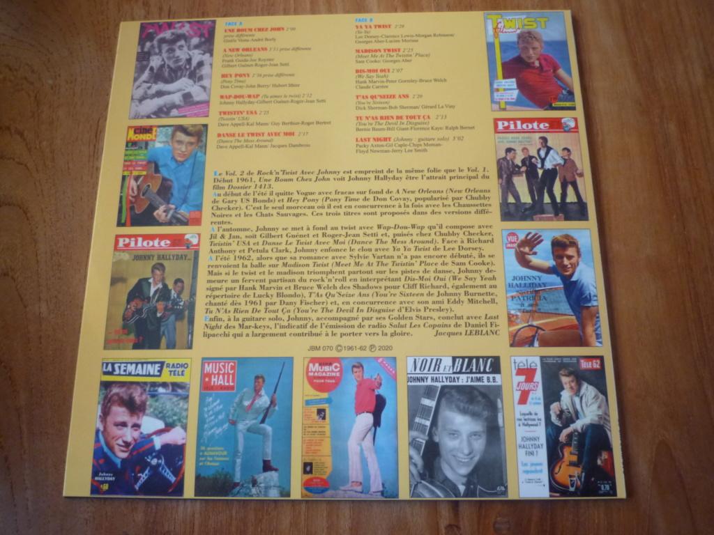 """25cm-33 tours """"rock and twist, volume 2"""" édité par JBM P1610699"""