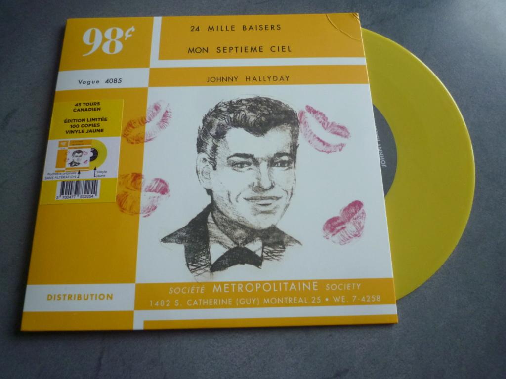 """45 tours canadien """"24000 baisers"""" édité par LMLR P1610734"""
