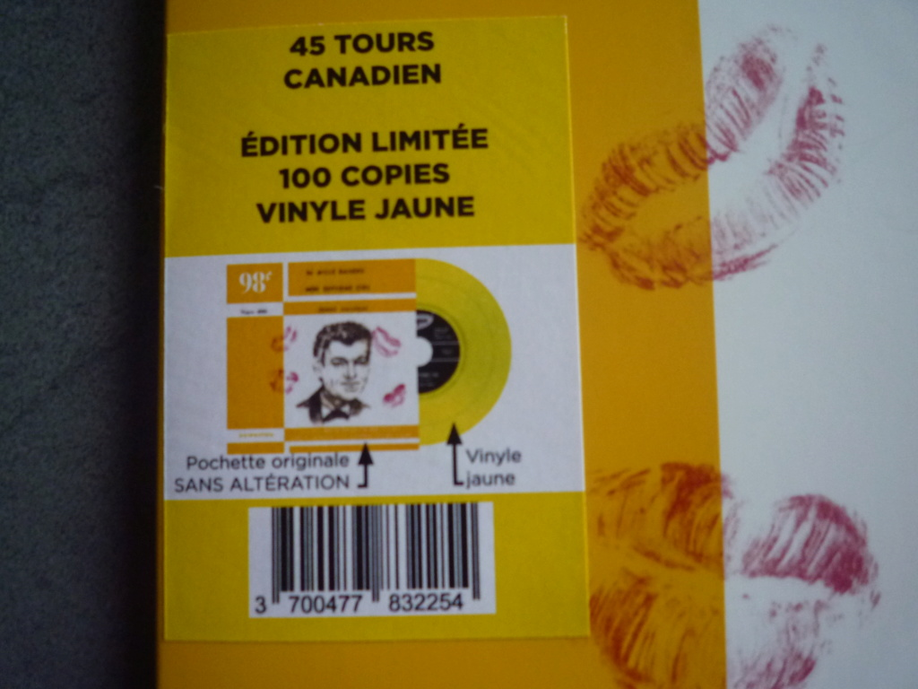 """45 tours canadien """"24000 baisers"""" édité par LMLR P1610736"""