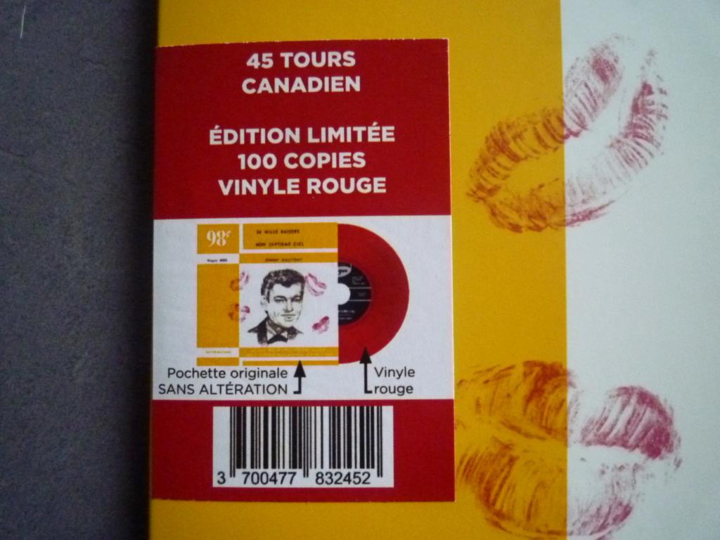 """45 tours canadien """"24000 baisers"""" édité par LMLR P1610741"""