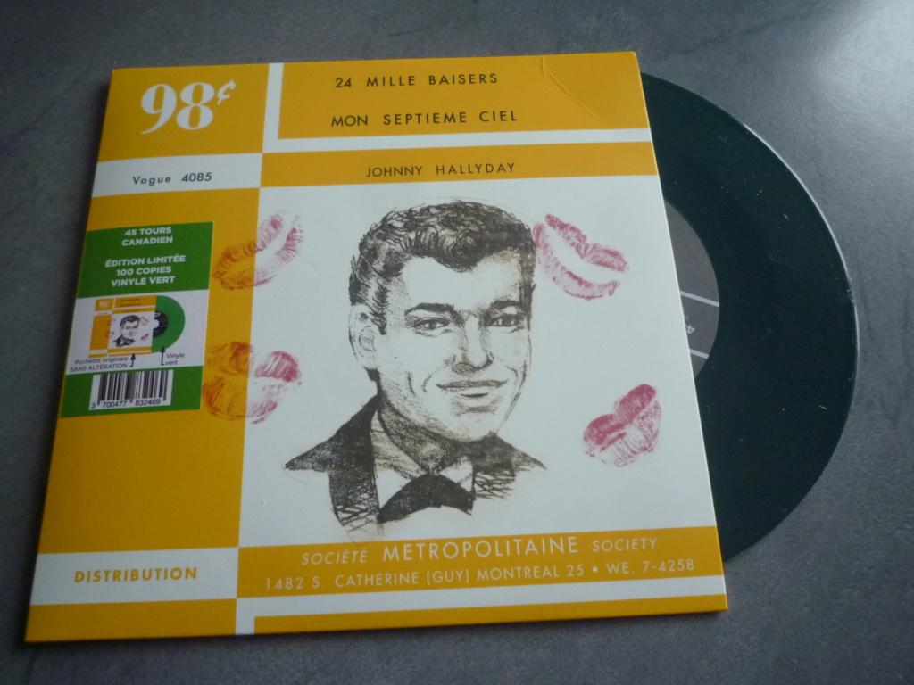 """45 tours canadien """"24000 baisers"""" édité par LMLR P1610743"""