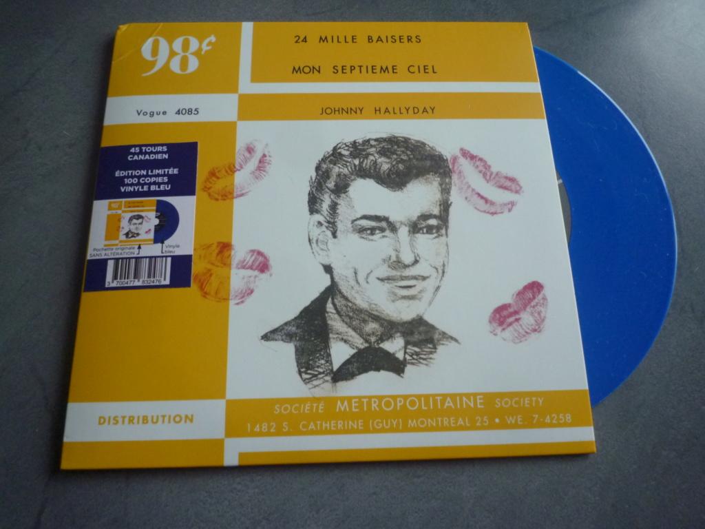 """45 tours canadien """"24000 baisers"""" édité par LMLR P1610746"""