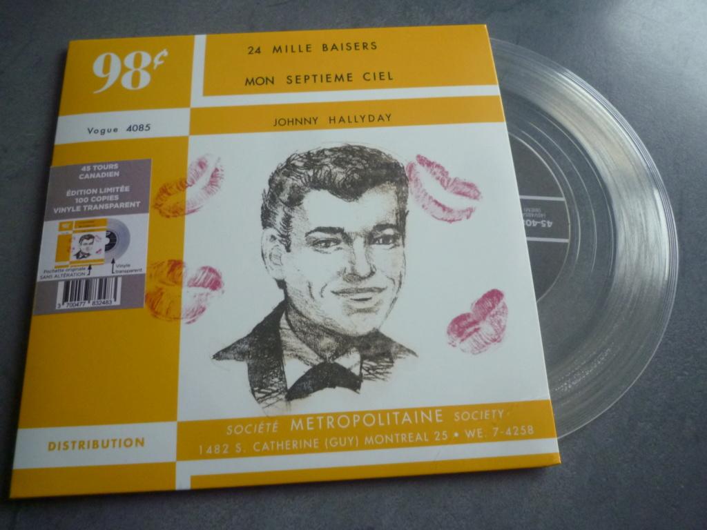 """45 tours canadien """"24000 baisers"""" édité par LMLR P1610749"""