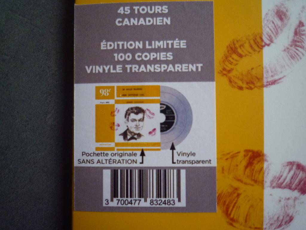"""45 tours canadien """"24000 baisers"""" édité par LMLR P1610751"""