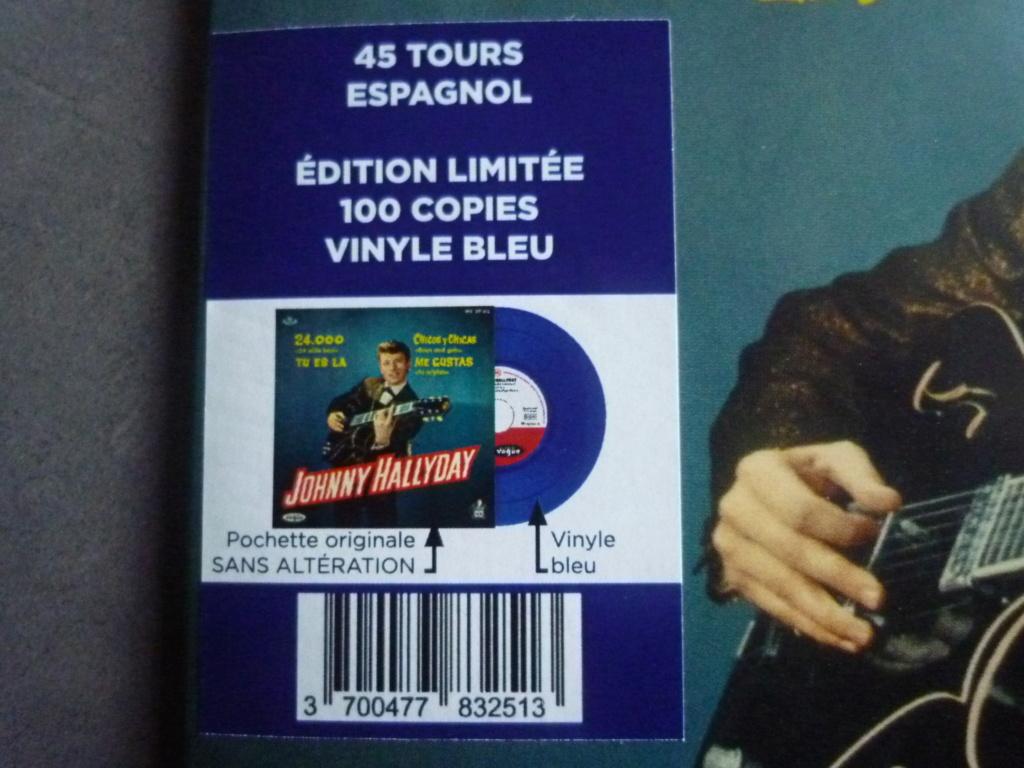 """45 tours espagnol """"24000 baisers"""" édité par LMLR P1610761"""