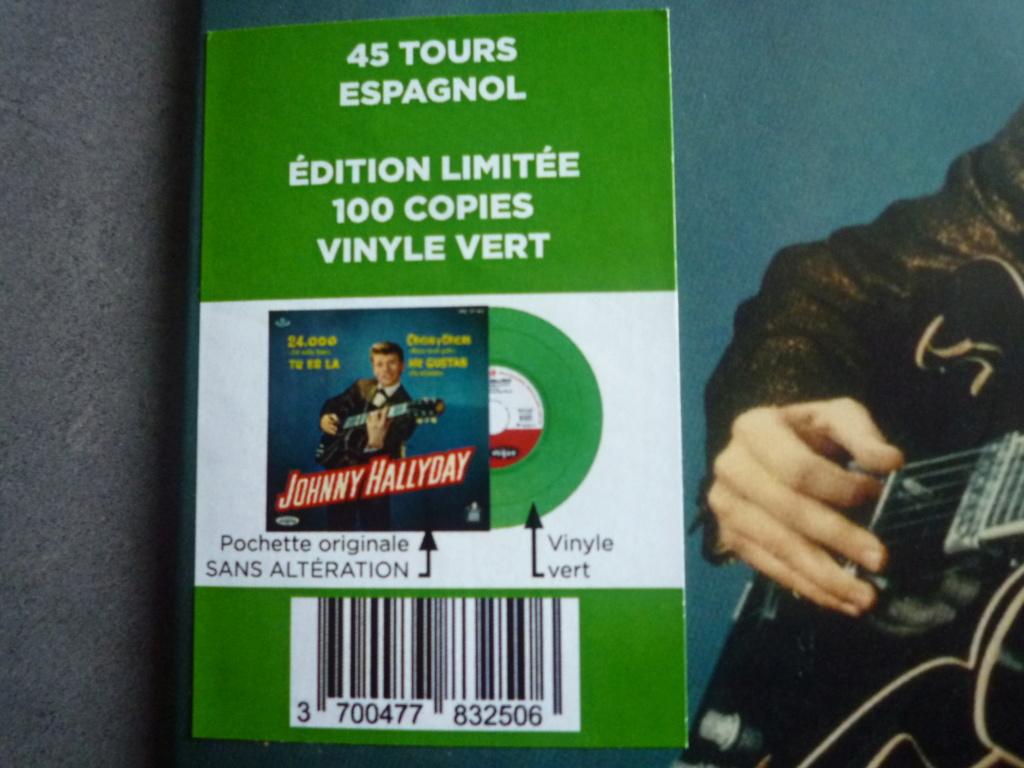 """45 tours espagnol """"24000 baisers"""" édité par LMLR P1610766"""