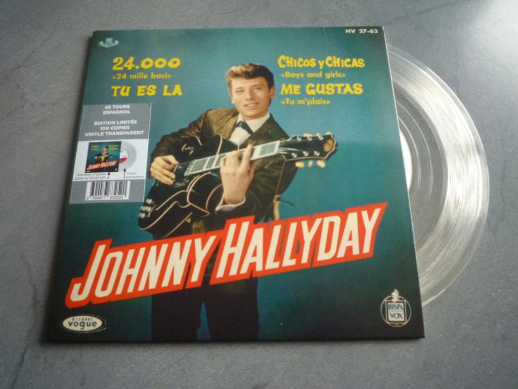 """45 tours espagnol """"24000 baisers"""" édité par LMLR P1610767"""