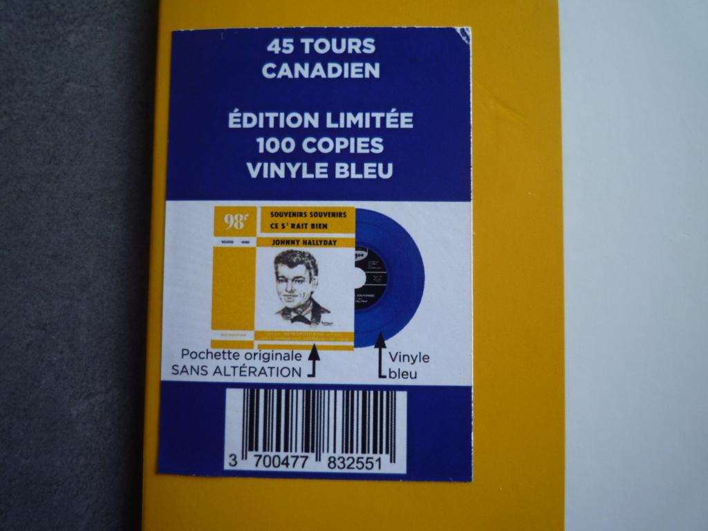 """45 tours canadien """"souvenirs,souvenirs"""" édité par LMLR P1610786"""