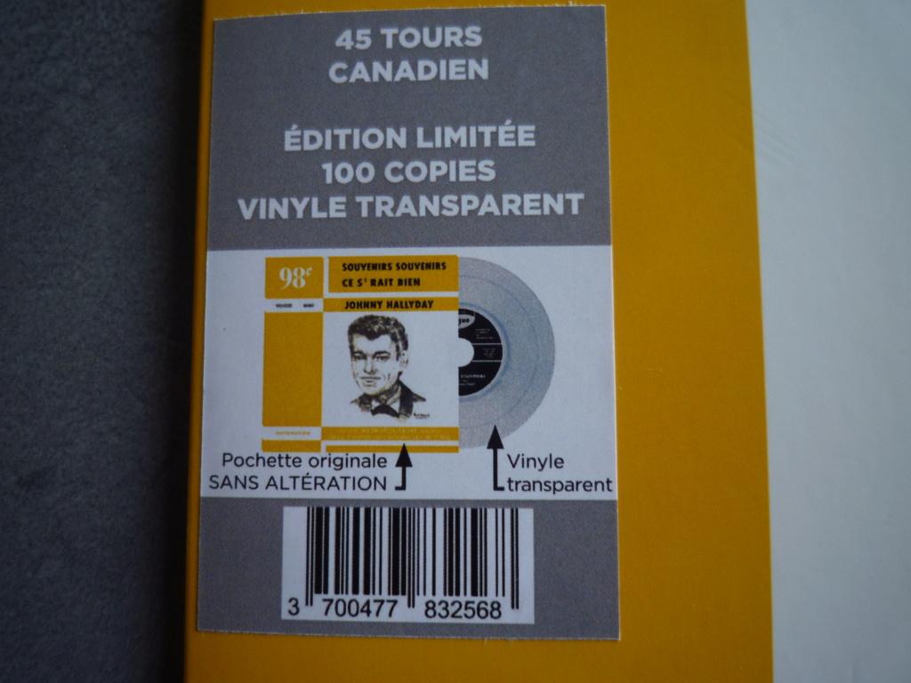 """45 tours canadien """"souvenirs,souvenirs"""" édité par LMLR P1610789"""