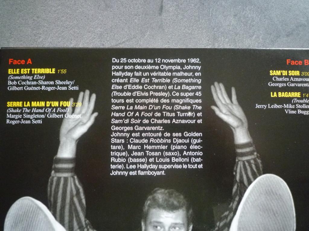 """45 tours """"Olympia 1962, volume 1"""" édité par JBM P1610813"""