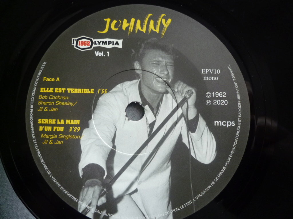 """45 tours """"Olympia 1962, volume 1"""" édité par JBM P1610816"""
