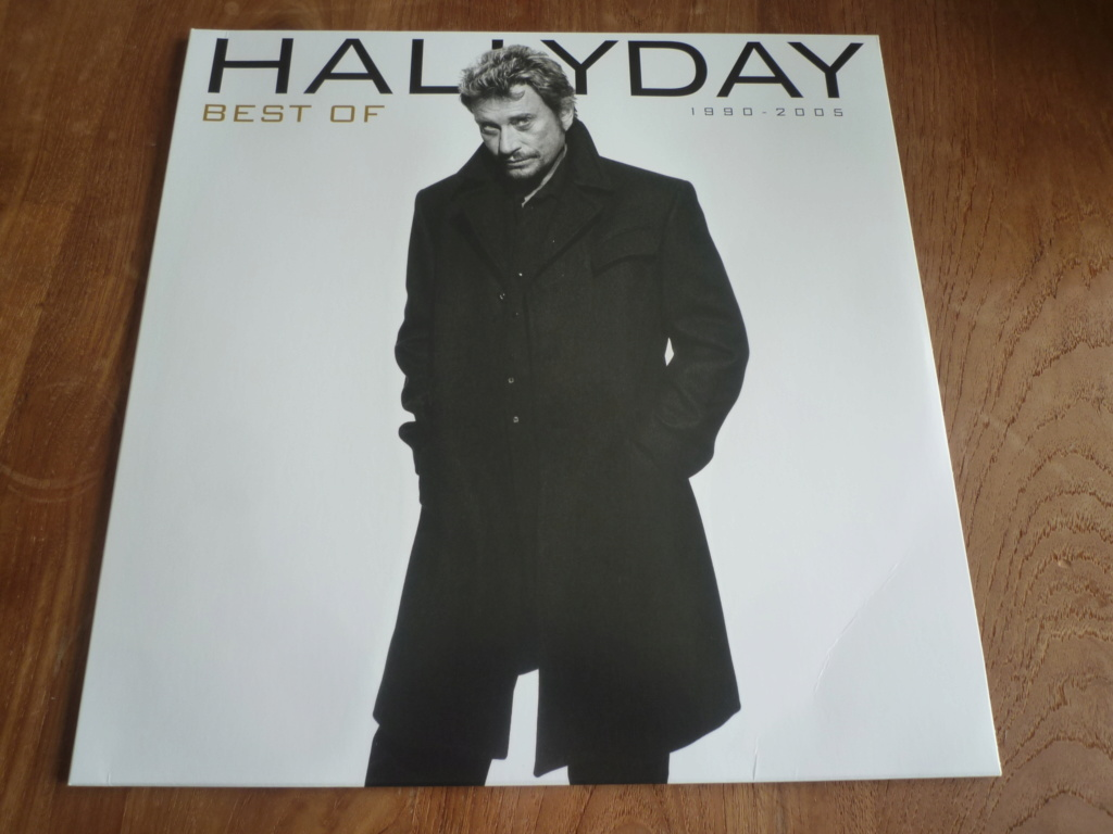 "33 tours ""HALLYDAY best of 1990-2005"" édité par Mercury P1610826"