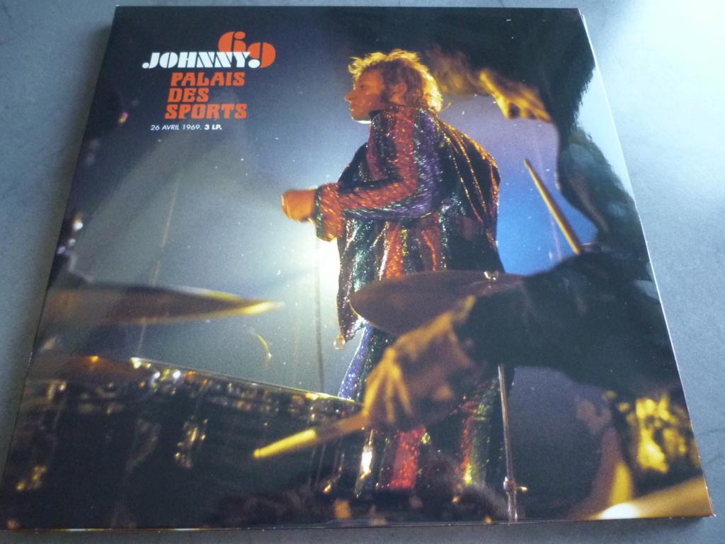 """triple 33 tours """"Johnny 69, palais des sports"""" édité par mercury P1610851"""