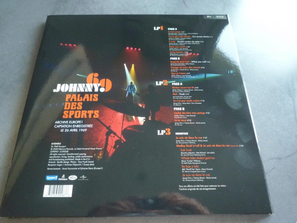 """triple 33 tours """"Johnny 69, palais des sports"""" édité par mercury P1610852"""