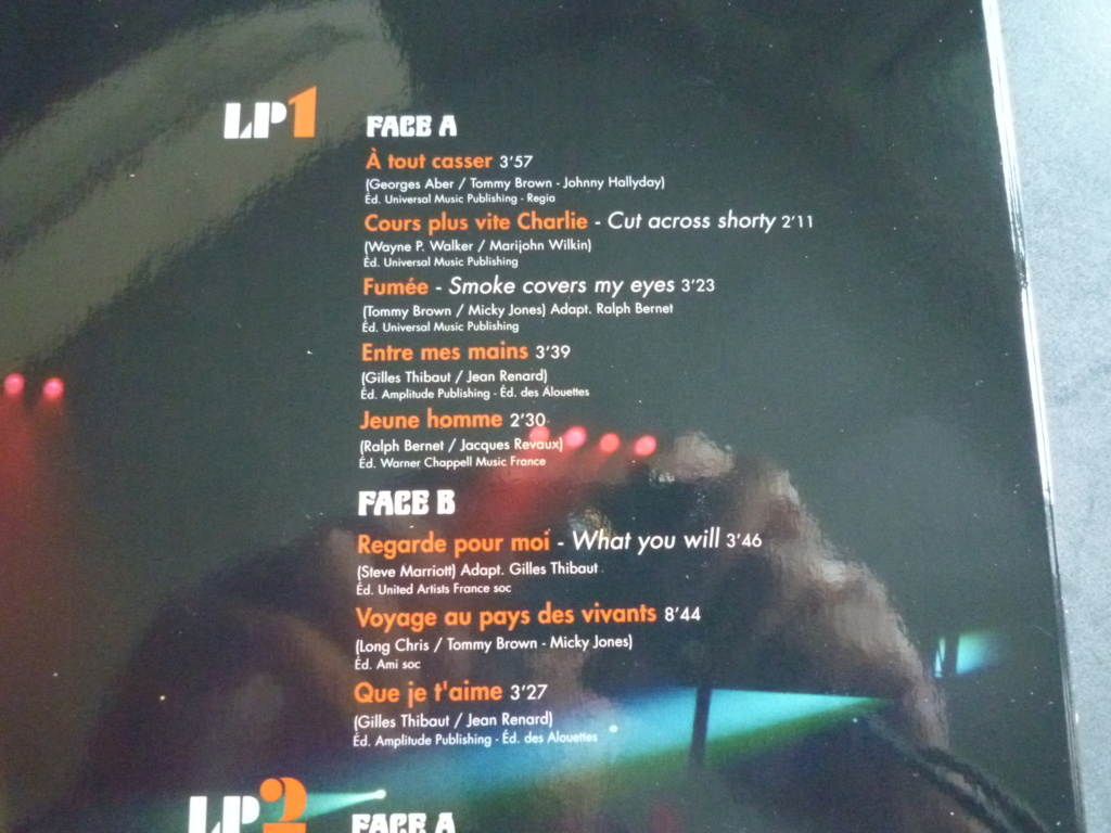 """triple 33 tours """"Johnny 69, palais des sports"""" édité par mercury P1610853"""