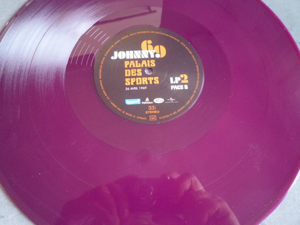"""triple 33 tours """"Johnny 69, palais des sports"""" édité par mercury P1610878"""