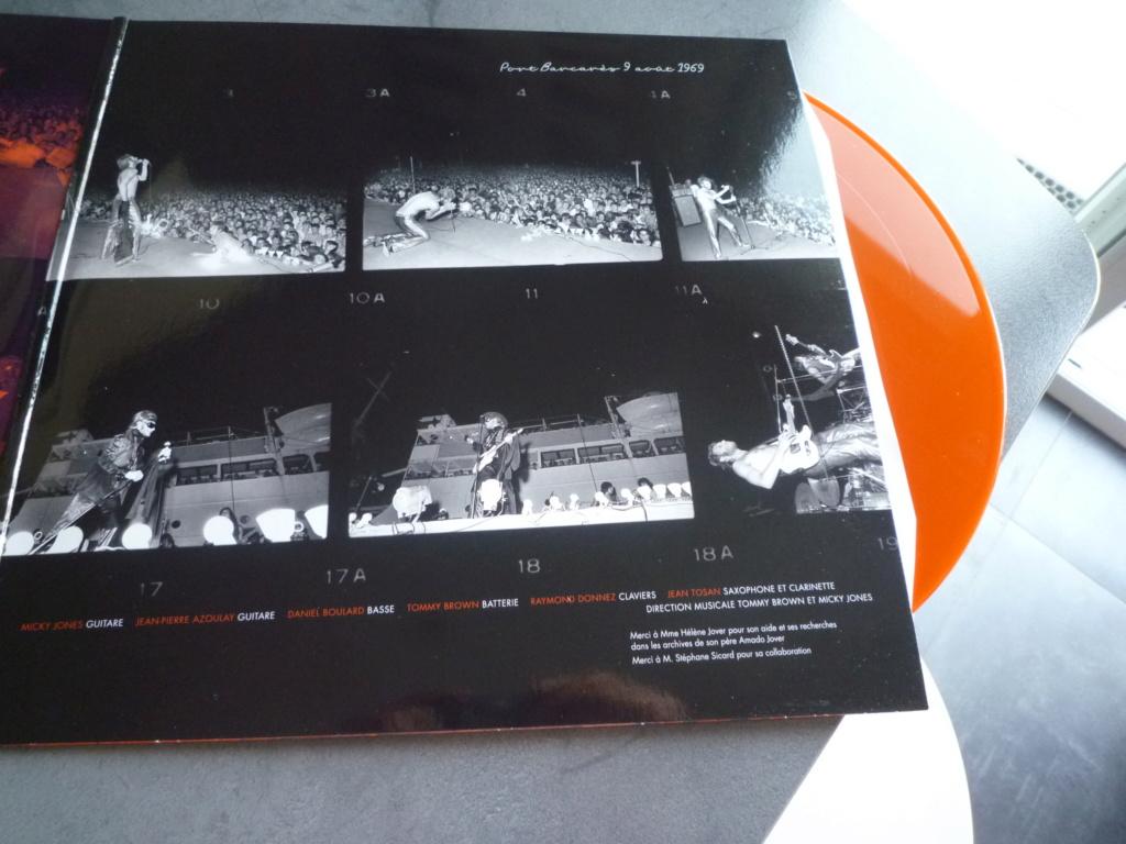 """double 33 tours """"Johnny 69, live Port Barcarès"""" édité par mercury P1610887"""