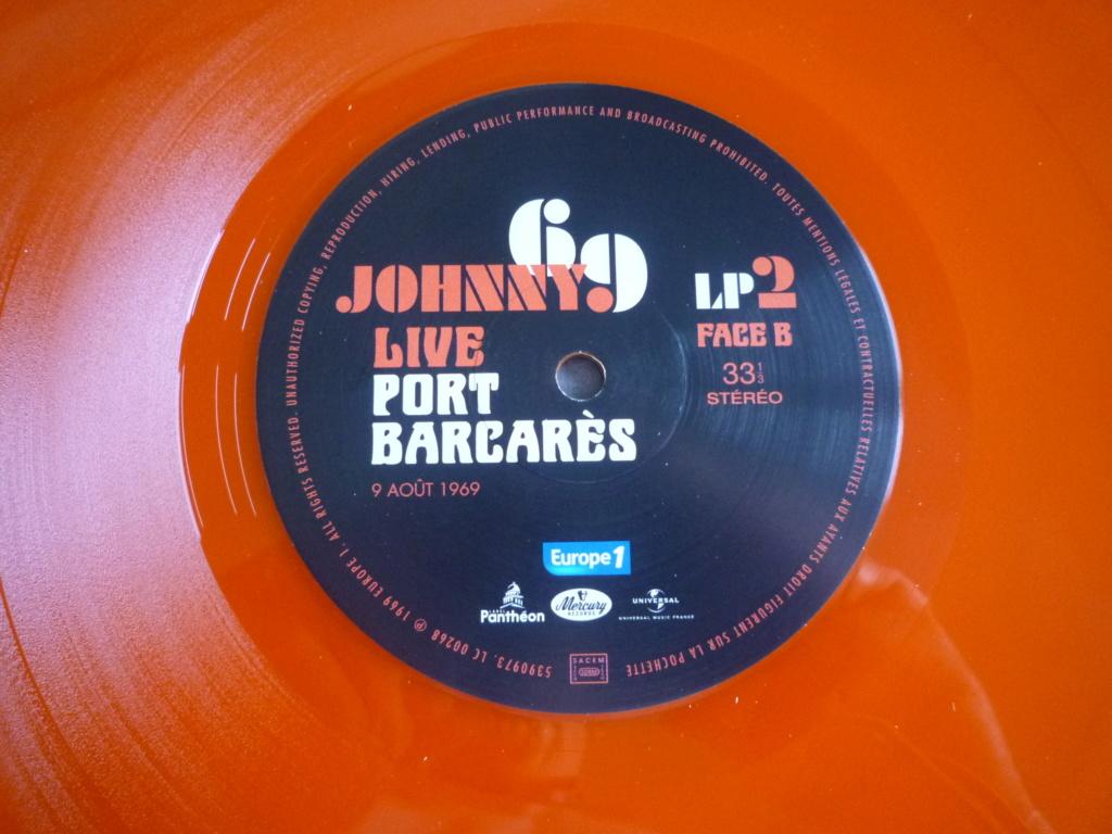 """double 33 tours """"Johnny 69, live Port Barcarès"""" édité par mercury P1610892"""