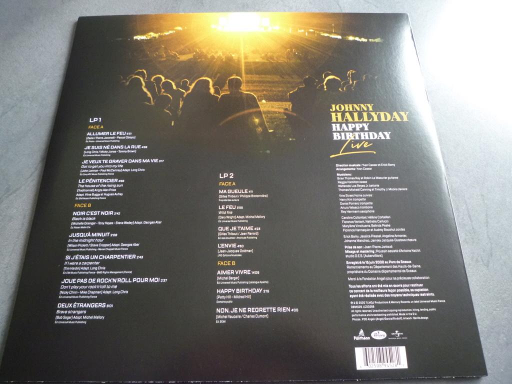 "double 33 tours ""Johnny Hallyday, happy birthday"" édité par Mercury P1610911"
