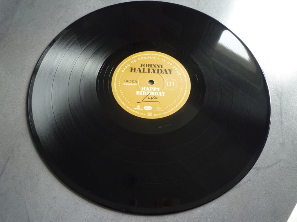 "double 33 tours ""Johnny Hallyday, happy birthday"" édité par Mercury P1610913"