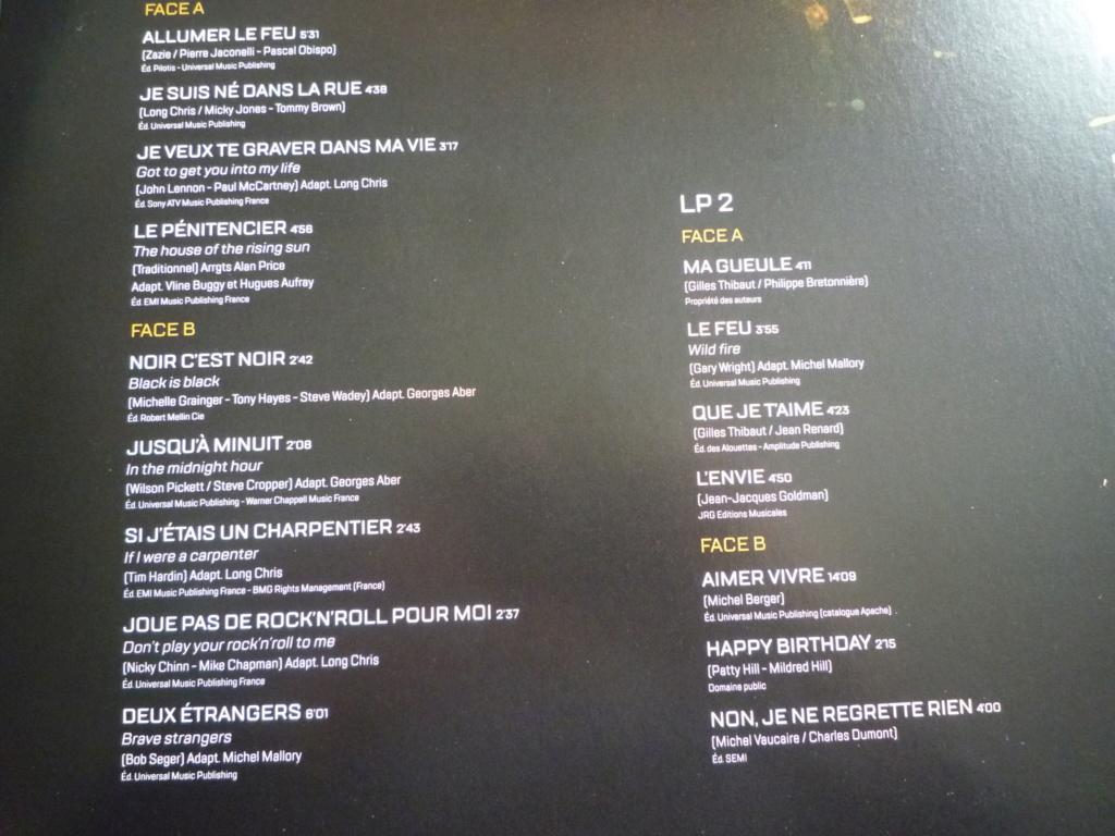 "double 33 tours ""Johnny Hallyday, happy birthday"" édité par Mercury P1610914"