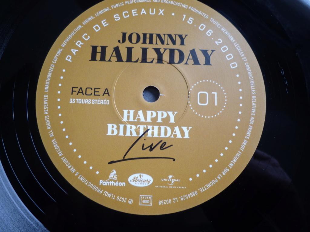 "double 33 tours ""Johnny Hallyday, happy birthday"" édité par Mercury P1610915"