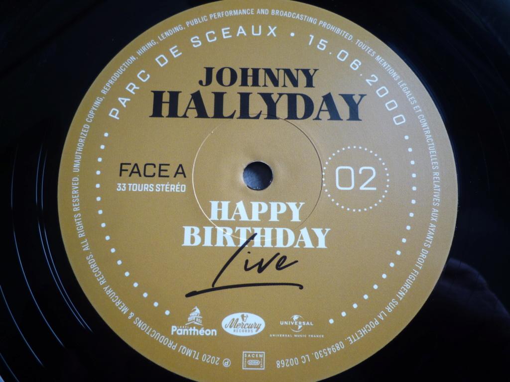 "double 33 tours ""Johnny Hallyday, happy birthday"" édité par Mercury P1610916"