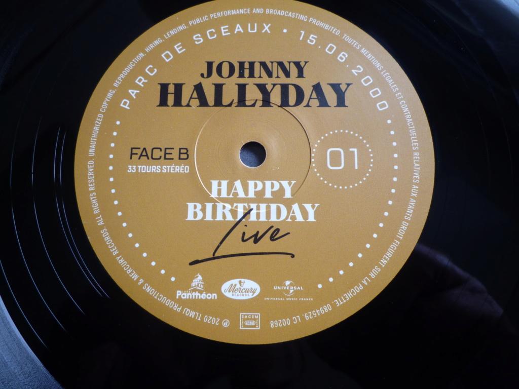 "double 33 tours ""Johnny Hallyday, happy birthday"" édité par Mercury P1610917"