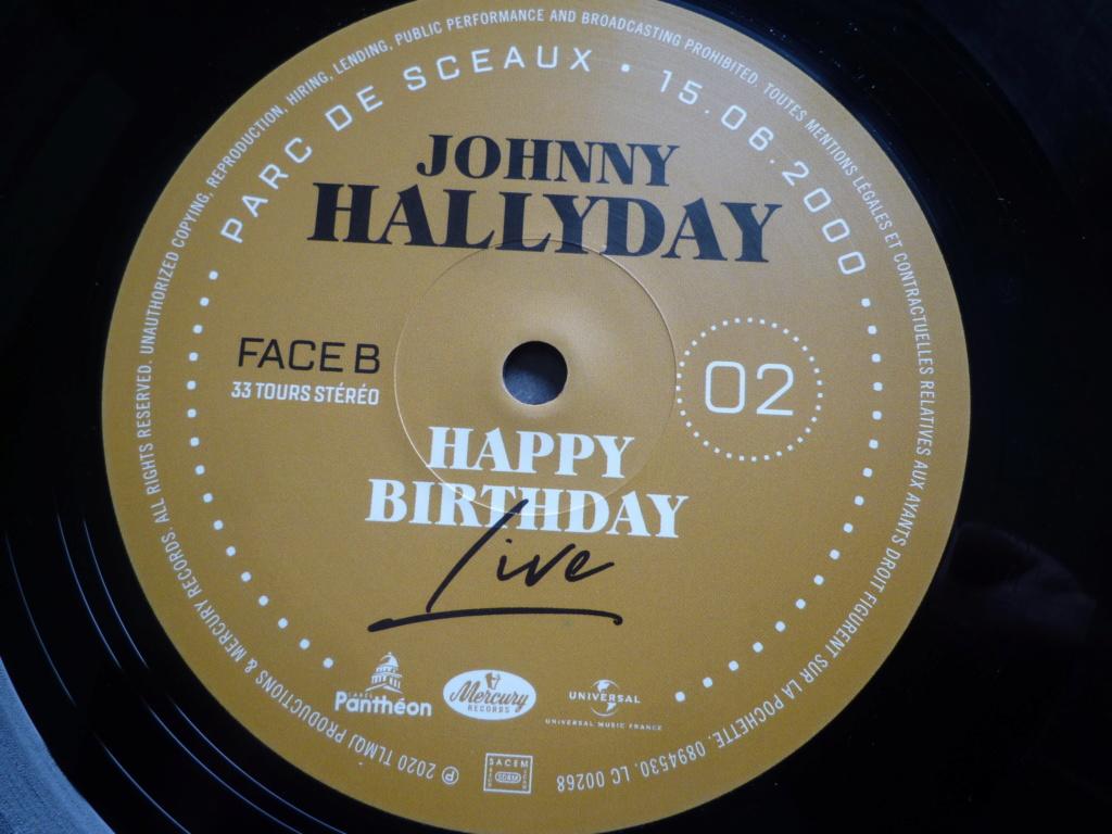 "double 33 tours ""Johnny Hallyday, happy birthday"" édité par Mercury P1610918"