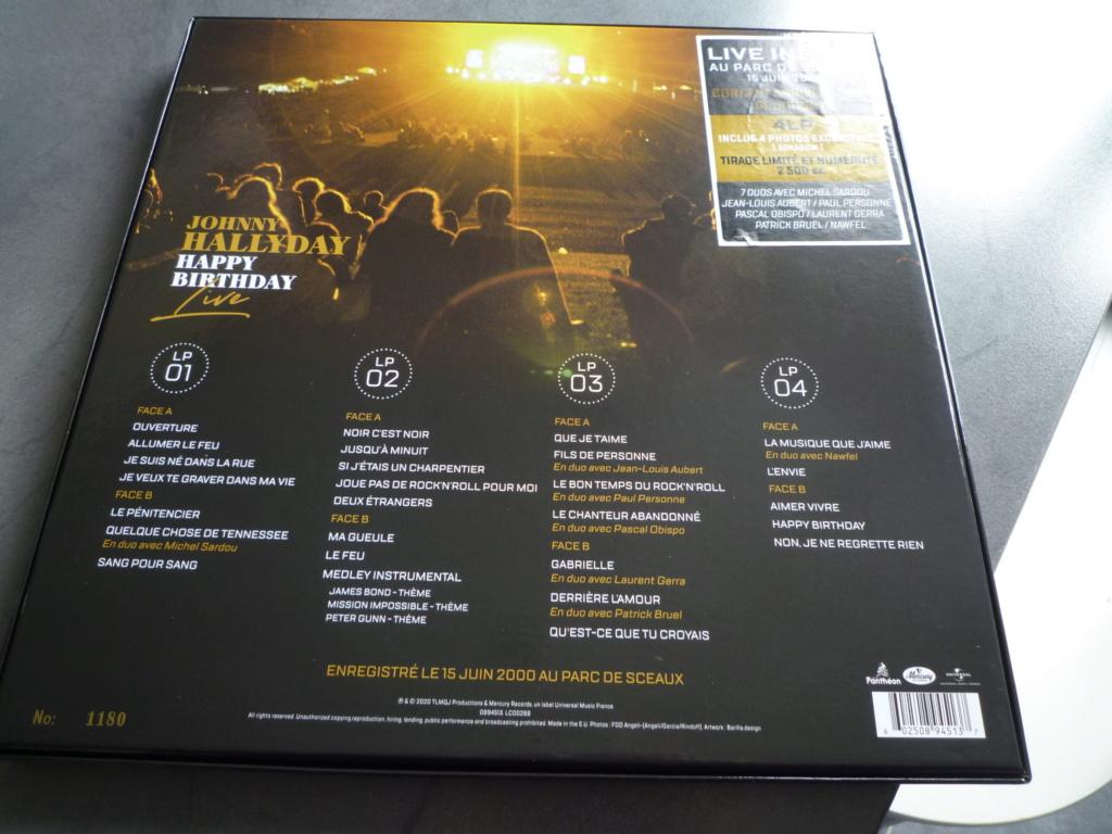 """coffret quadruple 33 tours """"Johnny Hallyday, happy birthday""""édité par Mercury P1610919"""