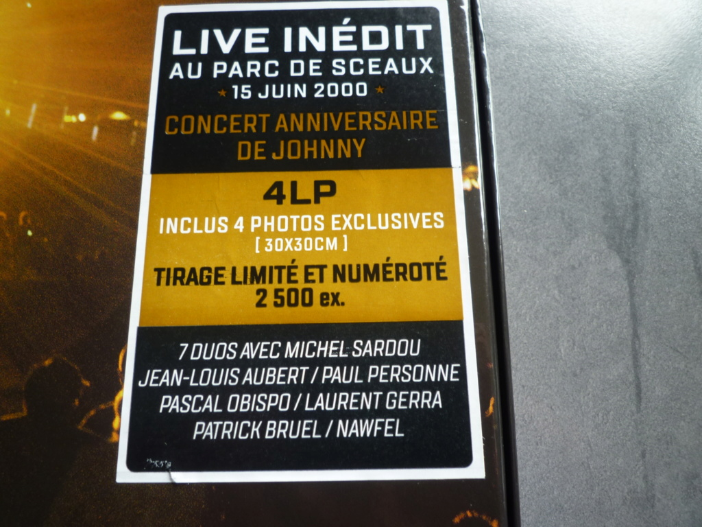 """coffret quadruple 33 tours """"Johnny Hallyday, happy birthday""""édité par Mercury P1610920"""