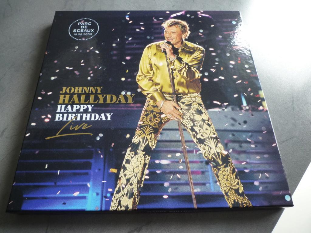 """coffret quadruple 33 tours """"Johnny Hallyday, happy birthday""""édité par Mercury P1610921"""
