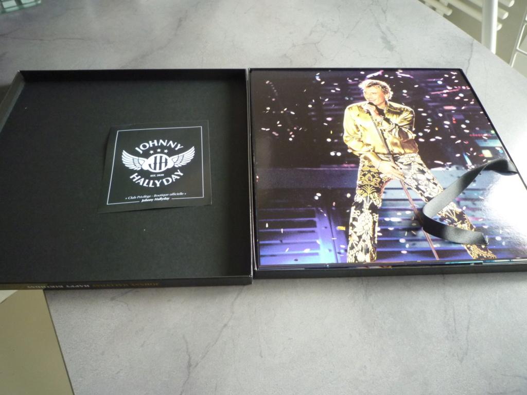 """coffret quadruple 33 tours """"Johnny Hallyday, happy birthday""""édité par Mercury P1610922"""