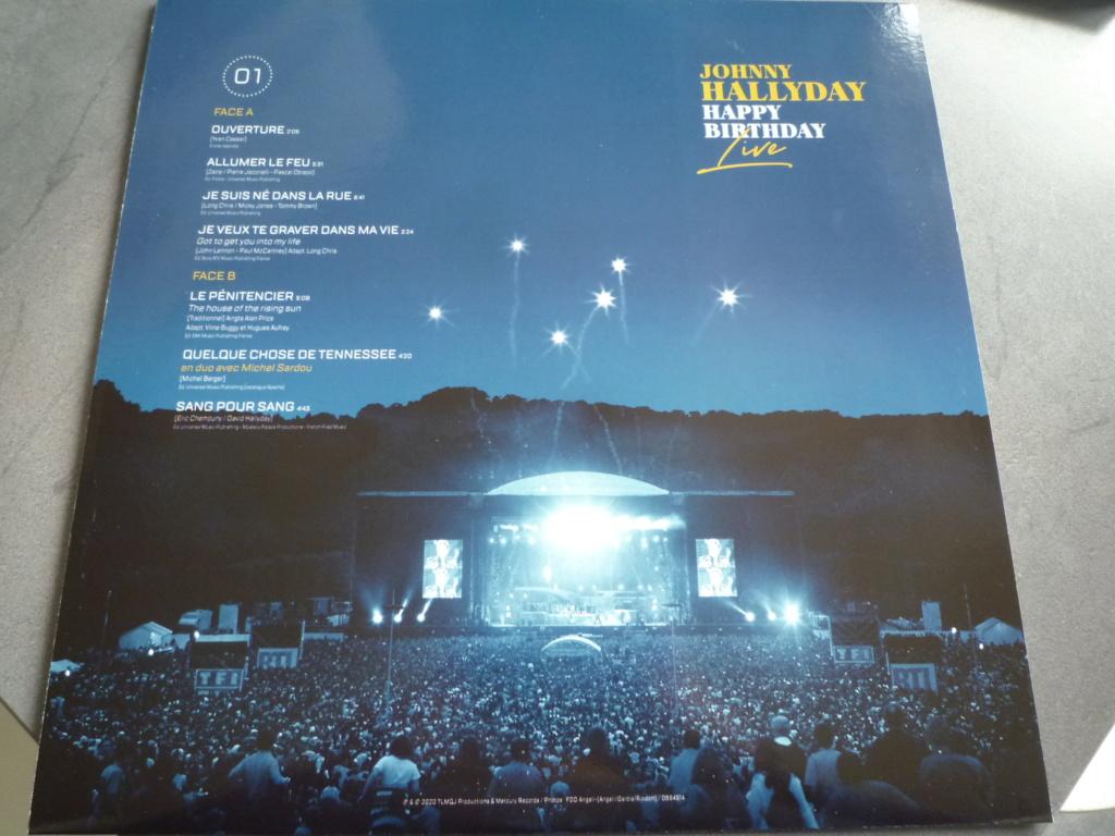 """coffret quadruple 33 tours """"Johnny Hallyday, happy birthday""""édité par Mercury P1610926"""