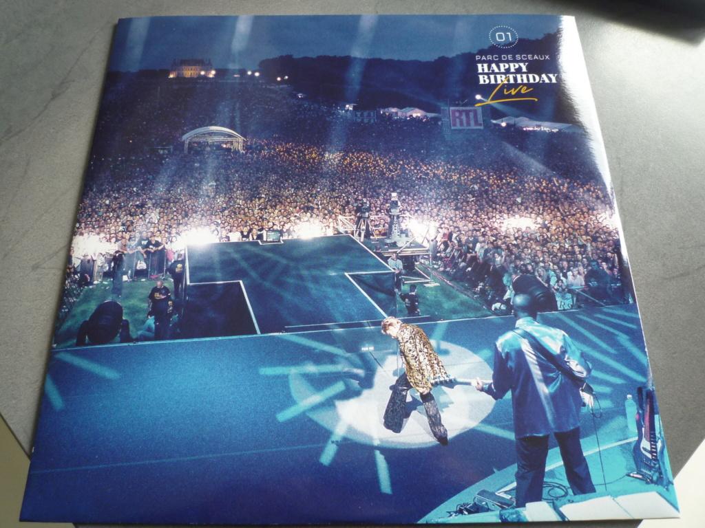 """coffret quadruple 33 tours """"Johnny Hallyday, happy birthday""""édité par Mercury P1610927"""
