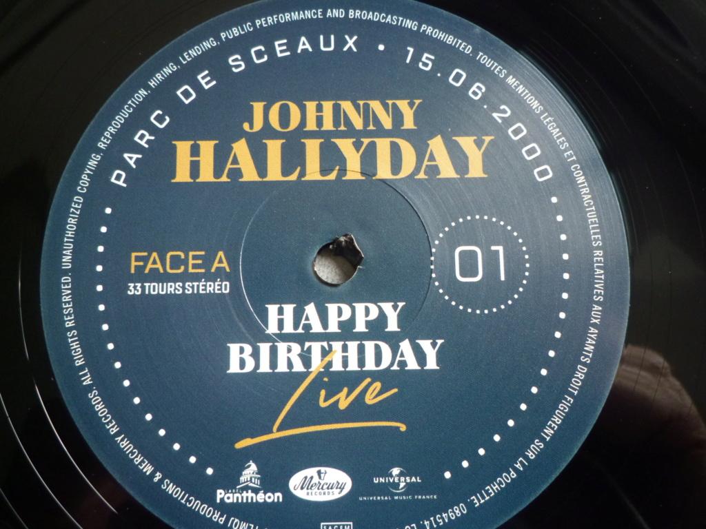 """coffret quadruple 33 tours """"Johnny Hallyday, happy birthday""""édité par Mercury P1610928"""