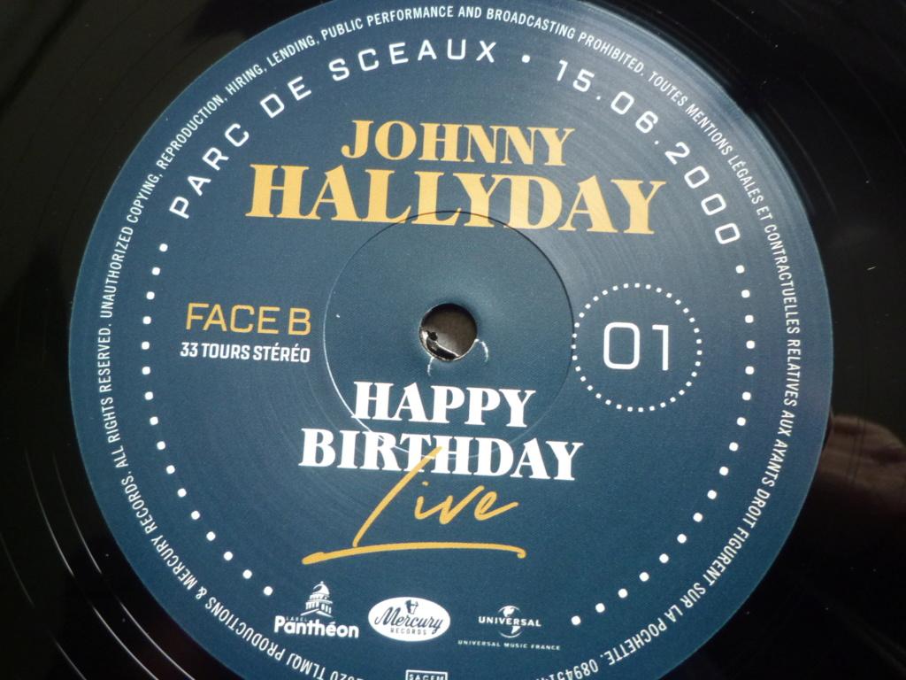 """coffret quadruple 33 tours """"Johnny Hallyday, happy birthday""""édité par Mercury P1610929"""