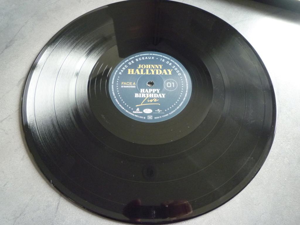 """coffret quadruple 33 tours """"Johnny Hallyday, happy birthday""""édité par Mercury P1610930"""